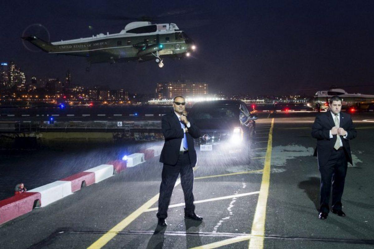 Servicio Secreto espera que el presidente de Estados Unidos, Barack Obama llegue a Nueva York. Foto:AFP. Imagen Por:
