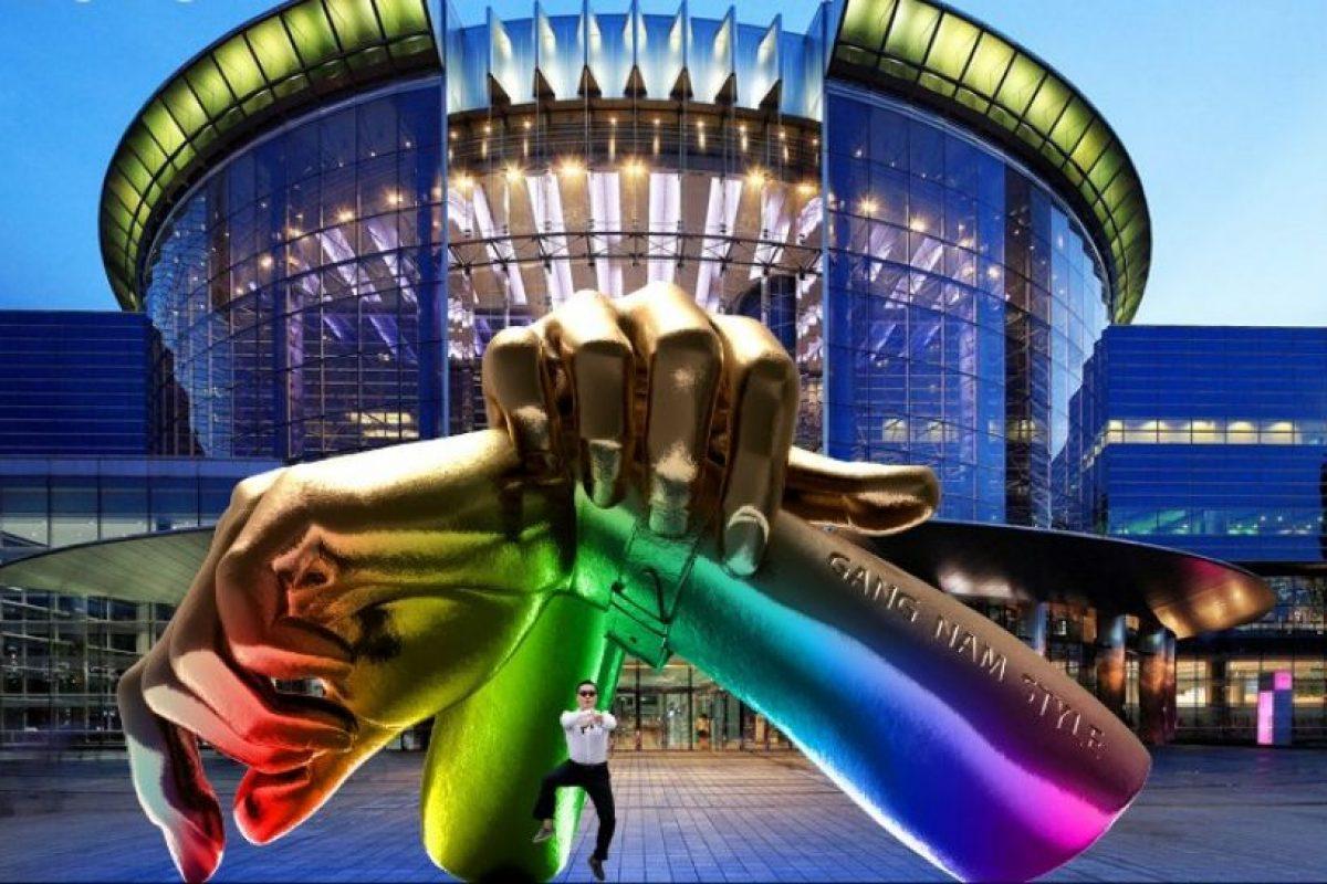La estatua se construirá a las puertas del centro comercial y de convenciones Coex, situado a su vez en el selecto distrito de Gangnam, al que hace referencia el popular tema compuesto por el surcoreano Psy. Foto:AFP. Imagen Por: