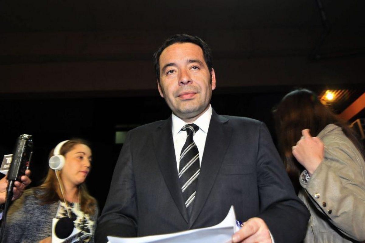 Luis Acevedo, director del Registro Civil. Foto:Agencia Uno. Imagen Por: