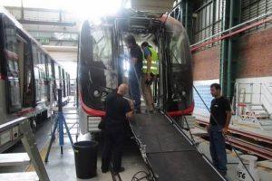 Foto:Reproducción / Facebook Metro de Santiago. Imagen Por: