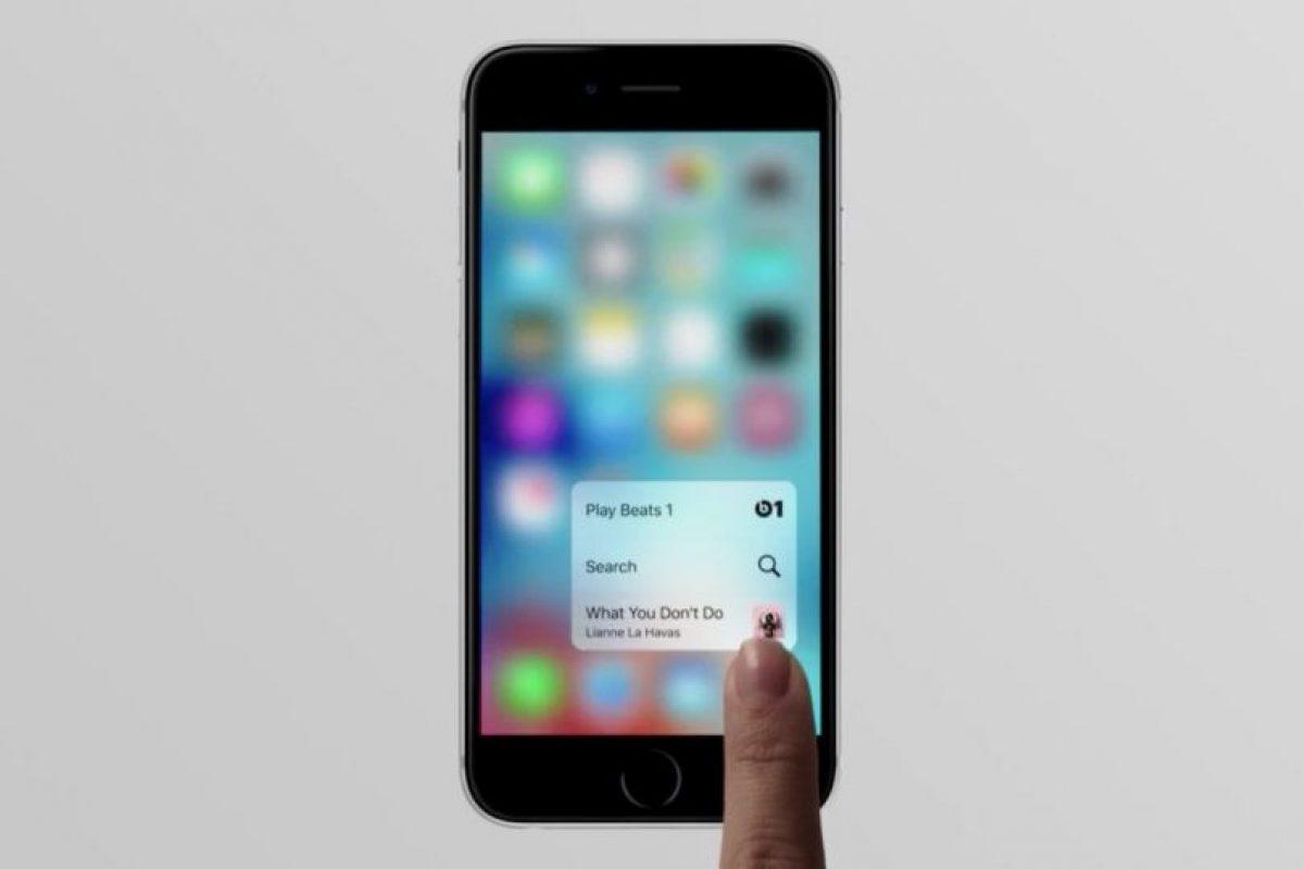 9- 3D TOUCH. Foto:Apple. Imagen Por: