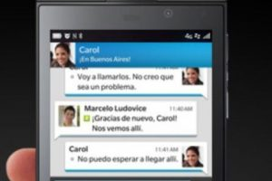 6- BlackBerry Messenger. Foto: BlackBerry. Imagen Por: