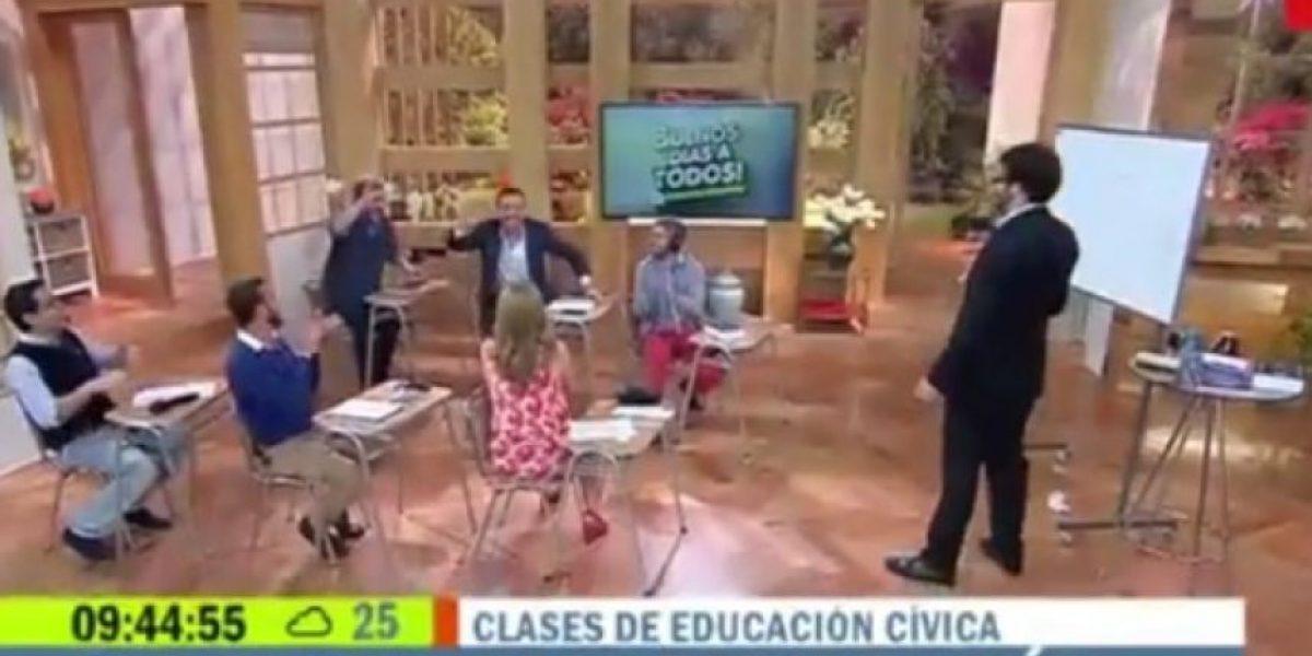 Clases de educación cívica del