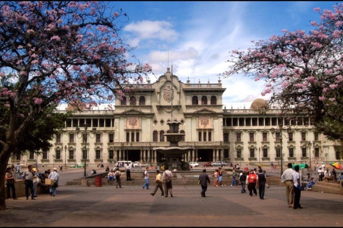 1. Ciudad de Guatemala Foto:Wikimedia. Imagen Por: