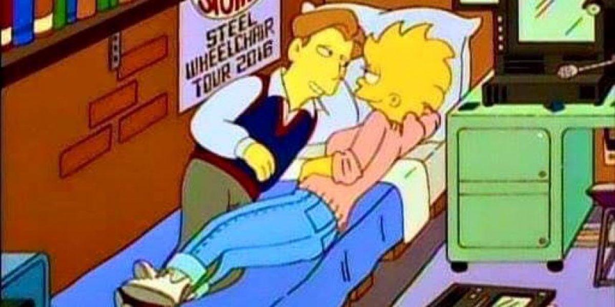 ¡Ay caramba! ¿Los Simpson anunciaron gira de los Rolling Stone en 2016?