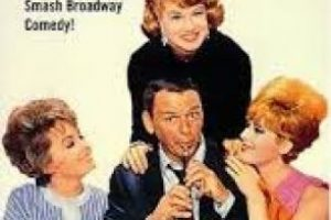 Gallardo y calavera es una comedia protagonizada por Frank Sinatra. La película se basa en la obra teatral homónima. Foto:The Paramount Vault. Imagen Por: