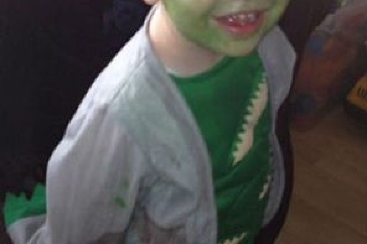 Este es el pequeño Mason Foto:Vía Facebook/Jimthetrim254britonferry. Imagen Por: