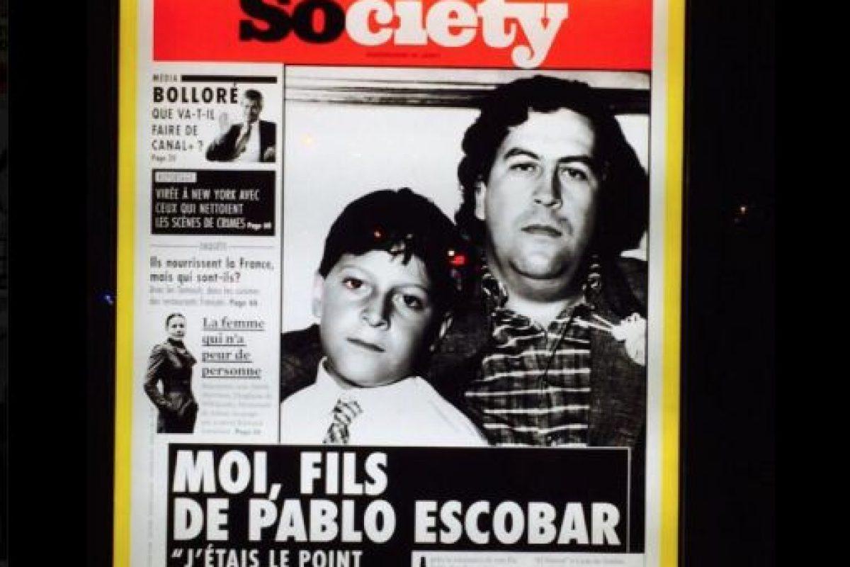 """Fue un narcotraficante colombiano, más conocido como """"El Patrón"""". Foto:Vía Facebook.com/JuanPabloEscobarHenao. Imagen Por:"""