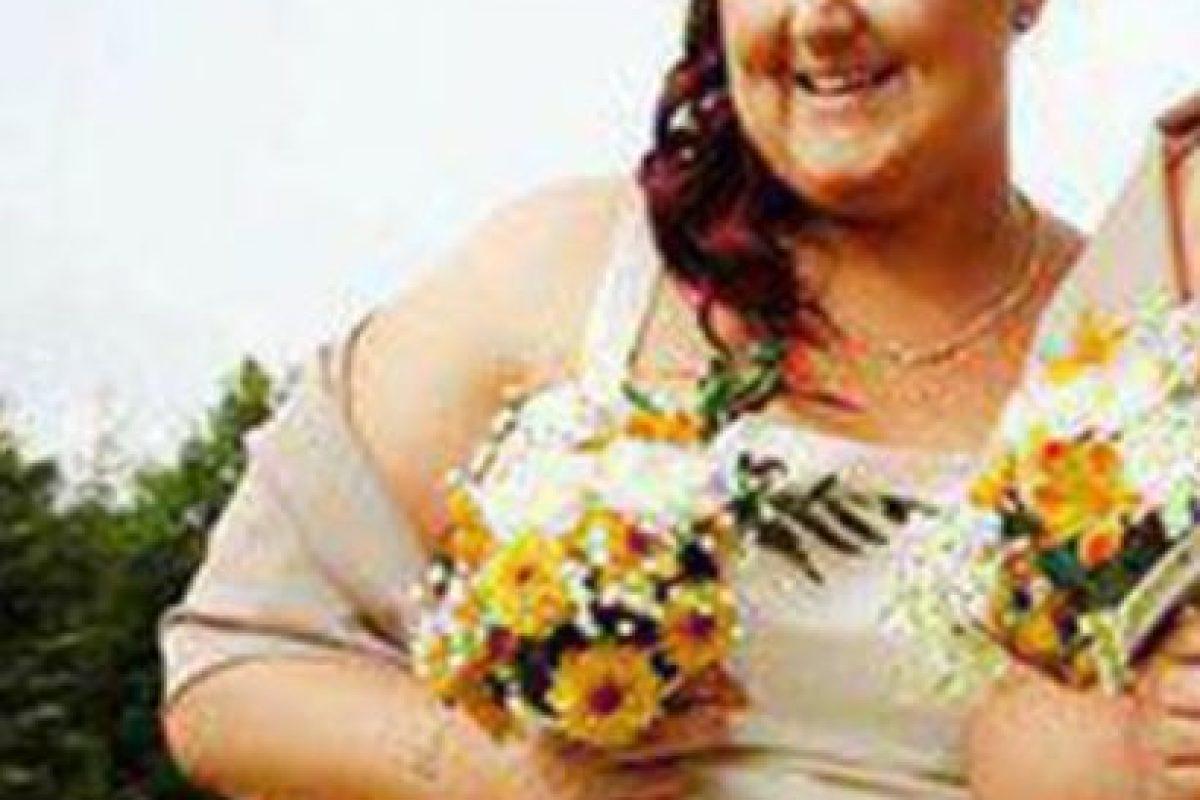 Nikita Gallagher es una irlandesa de 27 años que tenía talla 26 y se dio cuenta de lo gorda que estaba cuando vio las fotos de su hermano. Foto:vía Facebook. Imagen Por:
