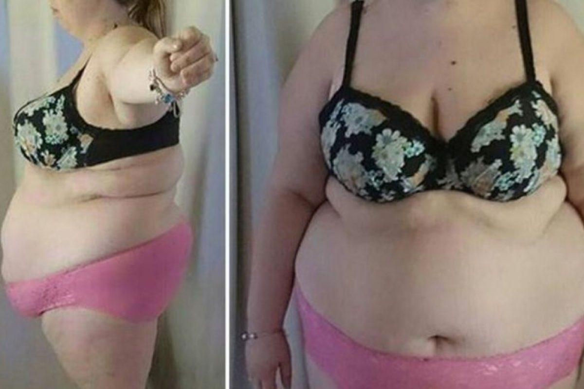 Shantell Bennet compartió una foto donde quería que vieran que estaba perdiendo peso. Pero recibió comentarios desagradables en Internet. Foto:vía Facebook. Imagen Por:
