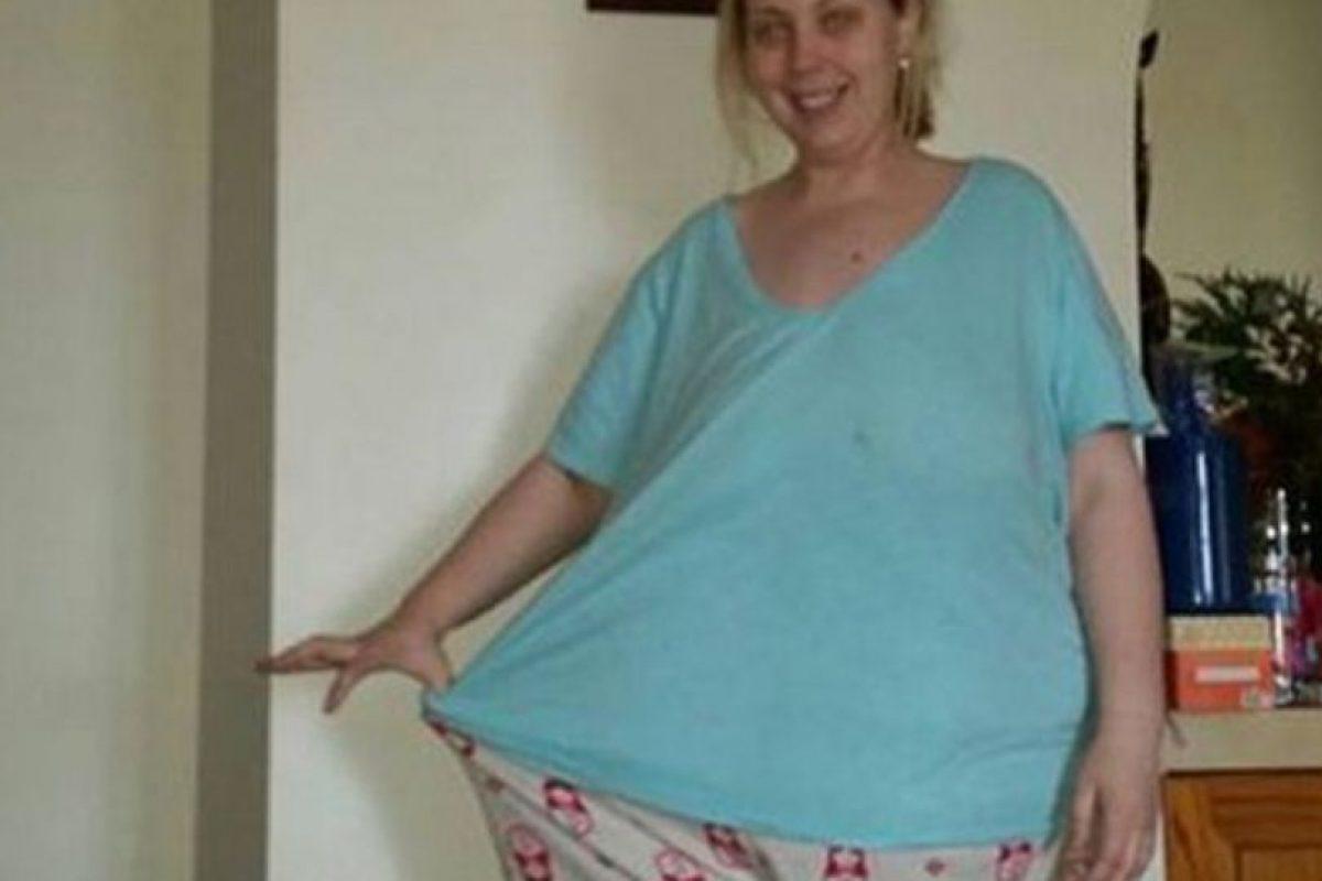 Pesaba 164 kilogramos. Hasta que se lo propuso y bajo´hasta la talla 18. Foto:vía Facebook. Imagen Por: