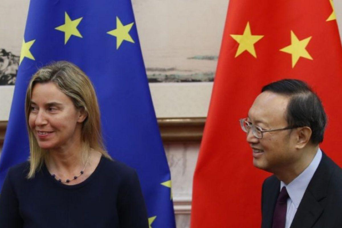 Es Alta Representante de la Unión Europea para Asuntos Exteriores y Política de Seguridad. Ocupa el puesto 36 de la lista y tiene 42 años. Foto:Getty Images. Imagen Por: