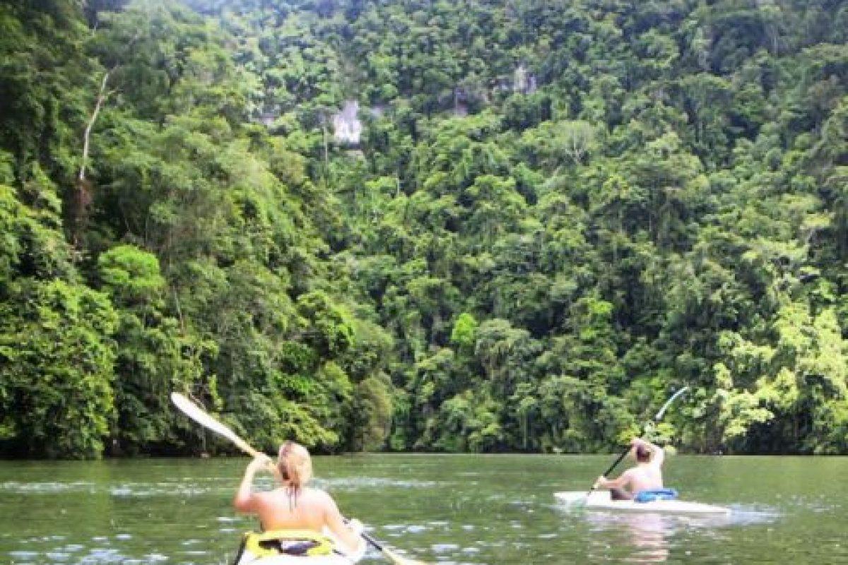 También se navega a través de sus manglares. Foto:Vía https://instagram.com/explore/tags/riodulce. Imagen Por: