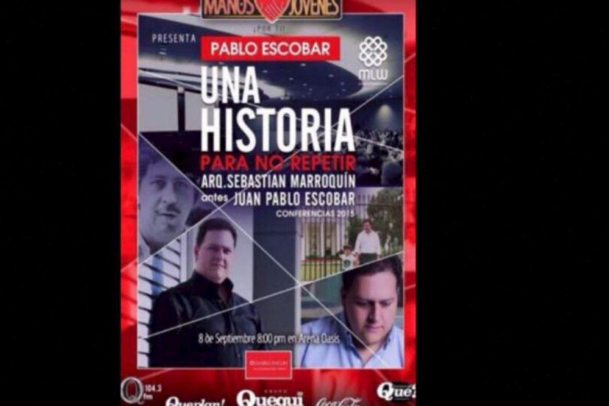 """A pesar de su muerte el narcotraficante continúa """"produciendo"""" dinero. Foto:Vía Facebook.com/JuanPabloEscobarHenao. Imagen Por:"""