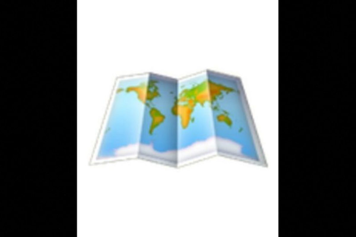 El mapa Foto:Vía emojipedia.org. Imagen Por: