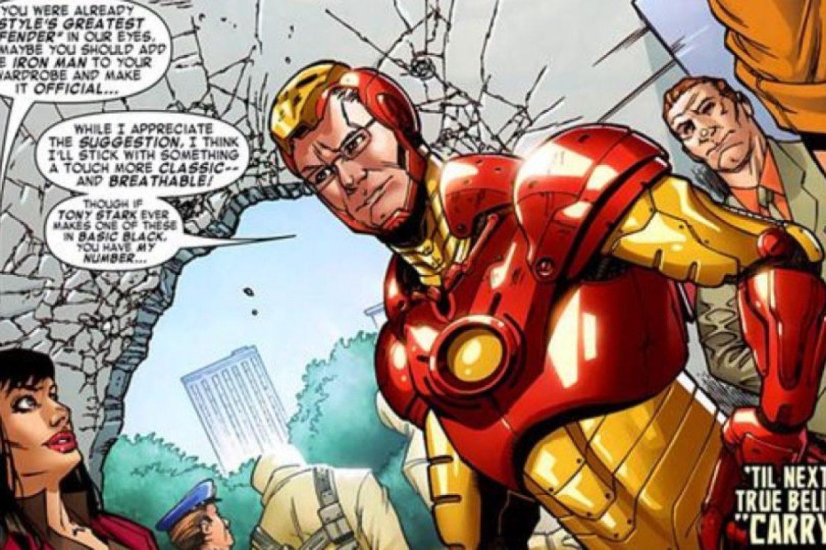 Tanto, que en Marvel lo invitaron a un cómic. Foto:vía Marvel. Imagen Por:
