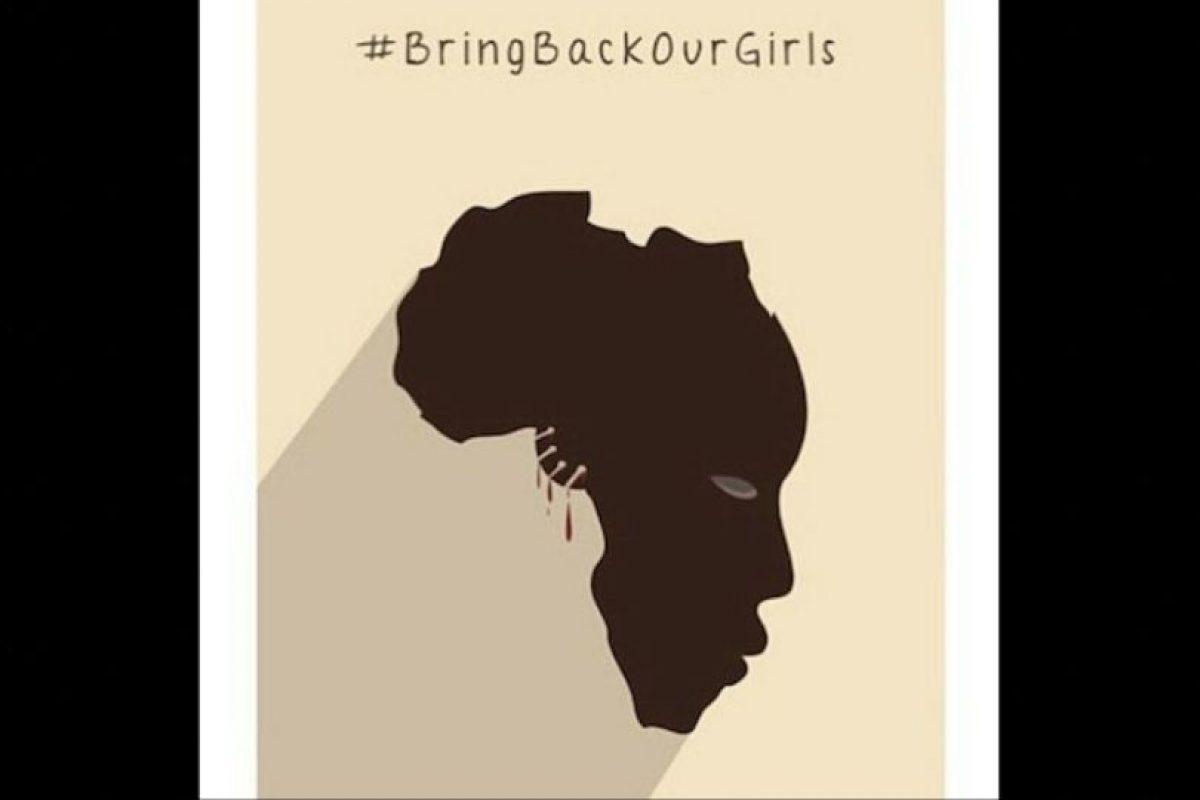 En abril se cumplió un año desde que el grupo yihadista Boko Haram secuestró a 280 niñas de la aldea de Chibok, al noreste de Nigeria. Foto:Vía Instagram.com/aerozingara. Imagen Por: