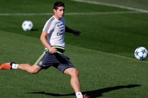 El jugador del Real Madrid desminitó este rumor en sus redes sociales. Foto:Vía Instagram/@jamesrodriguez10. Imagen Por: