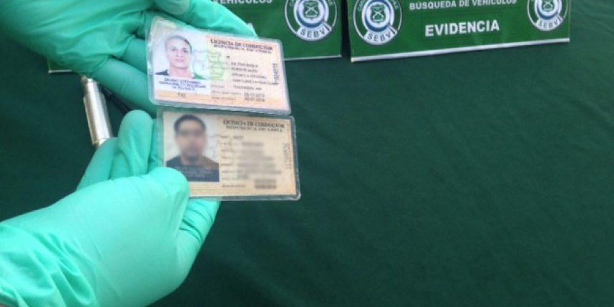Carabineros entregó datos para reconocer una licencia de conducir falsa