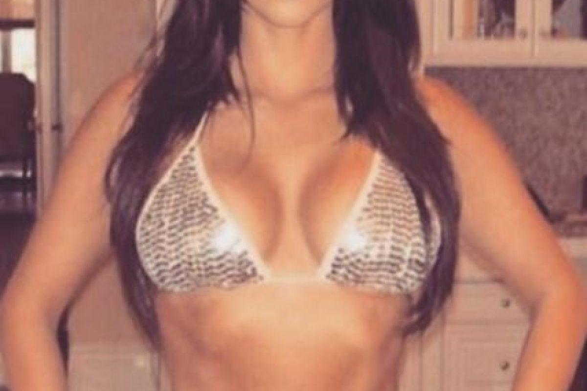 Esta es la foto que North West filtró de su madre. Foto:vía instagram.com/kimkardashian. Imagen Por: