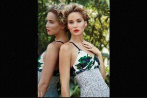 """Cuando posó desnuda: Luego del polémico """"celebgate"""", para la edición de marzo de la revista """"Vanity Fair"""", la actriz aceptó posar desnuda. Foto:Vanity Fair. Imagen Por:"""