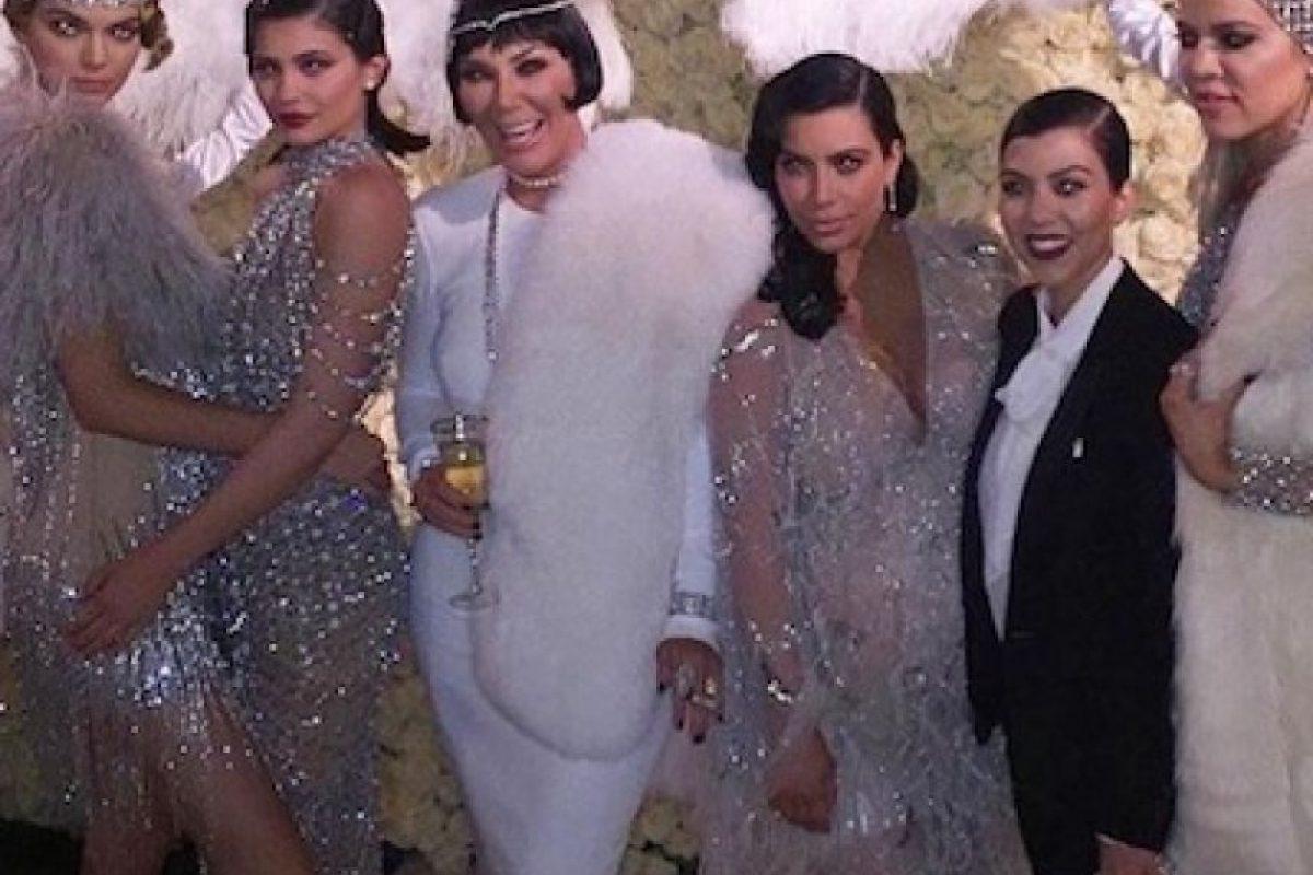 Kris Jenner celebró su cumpleaños número 60 Foto:Instagram/krisjenner. Imagen Por: