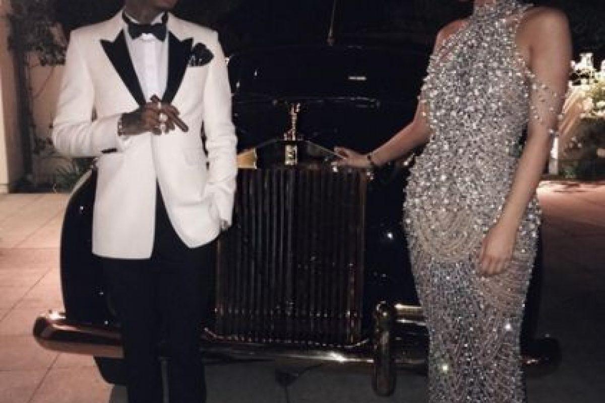 Sin embargo, Kylie Jenner se robó la noche con su look. Foto:Instagram/kyliejenner. Imagen Por: