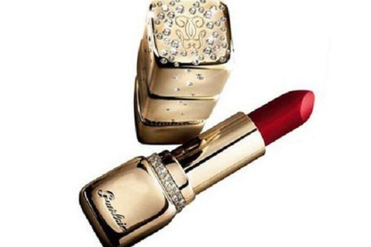 El labial más caro del mundo es de Guerlain. Cuesta 62 mil dólares. Foto: Guerlain. Imagen Por: