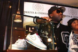 Estos Nike con diamantes cuestan 50 mil dólares Foto: Nike. Imagen Por: