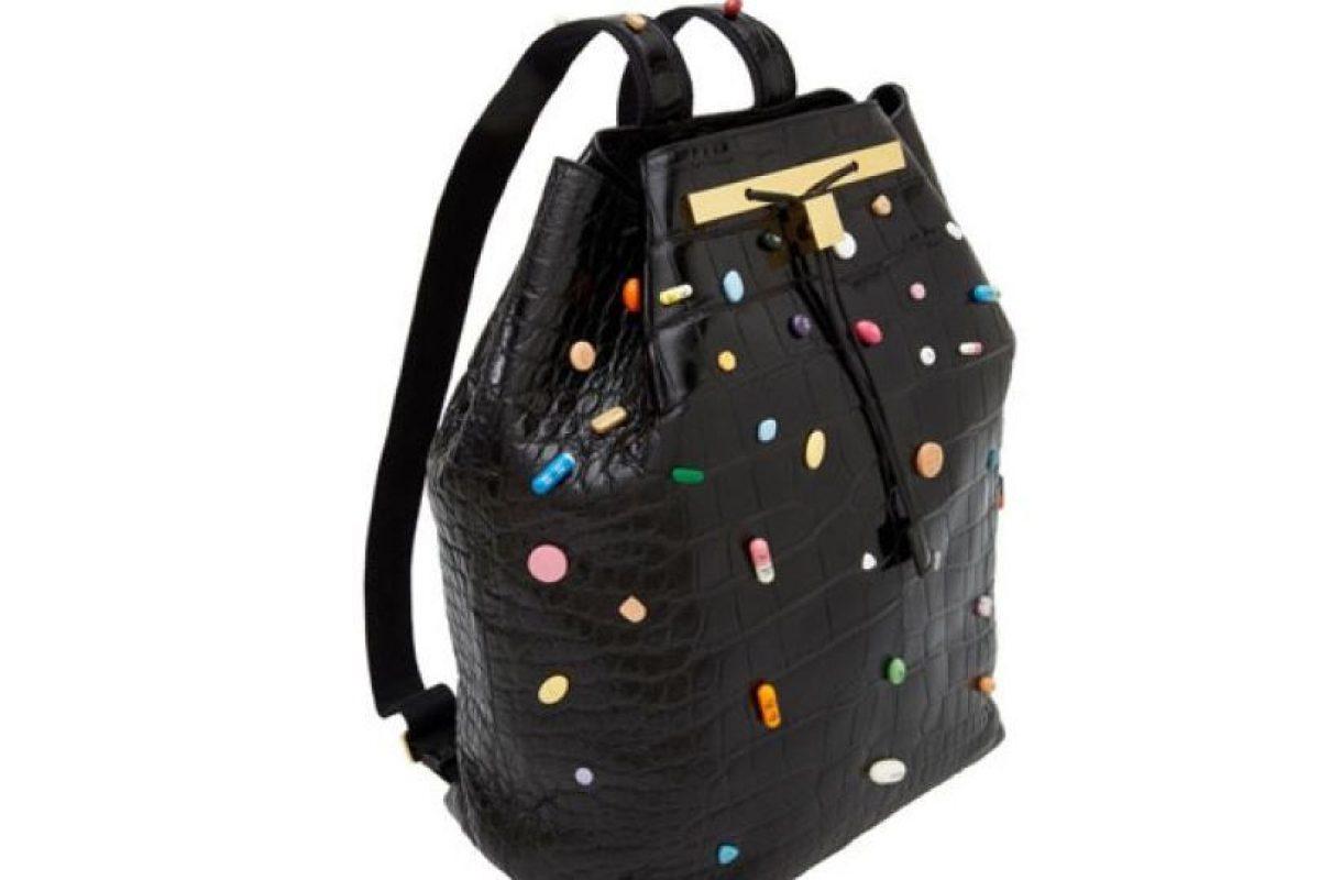 Este bolso, colaboración entre 'The Row' (marca de las gemelas Olsen) y Damien Hirst cuesta 34 mil dólares Foto: The Row. Imagen Por: