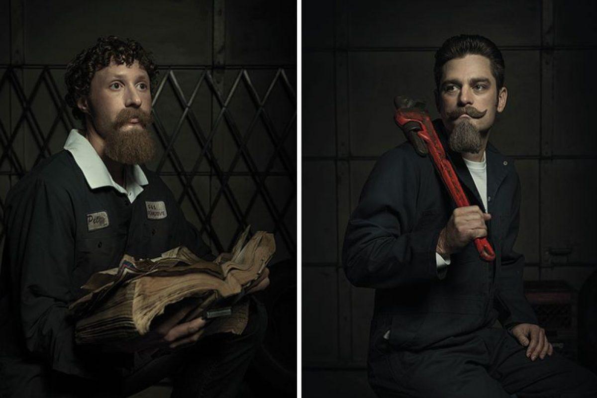 Retratos inspirados en Rembrandt Foto:Freddy Fabris. Imagen Por: