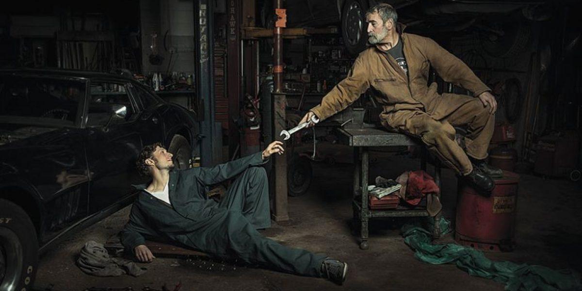 ¡Arte con humor! Mecánicos recrean las pinturas renacentistas más famosas