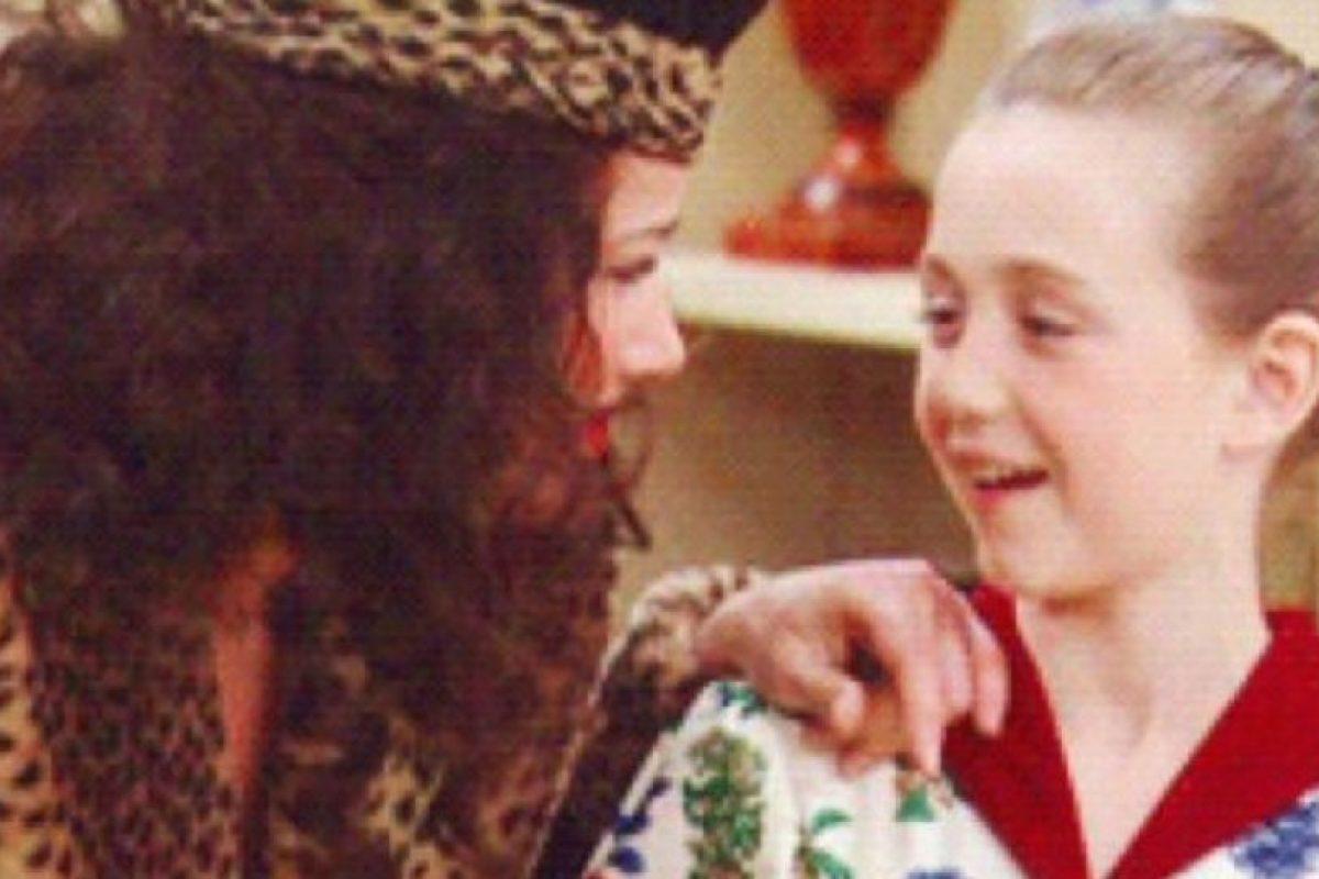 """Madeline Zima era """"Grace"""", la más chica de los Sheffield. Foto:vía TriStar Television. Imagen Por:"""