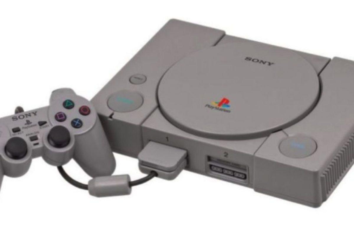 La evolución del PlayStation. PS1 Foto:Sony. Imagen Por: