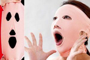 Máscara de ejercicio facial. Foto: japantrendshop.com. Imagen Por: