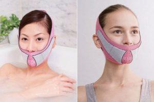 El cinturón antiarrugas es una banda de nylon que sirve para ejercitar el rostro Foto: japantrendshop.com. Imagen Por: