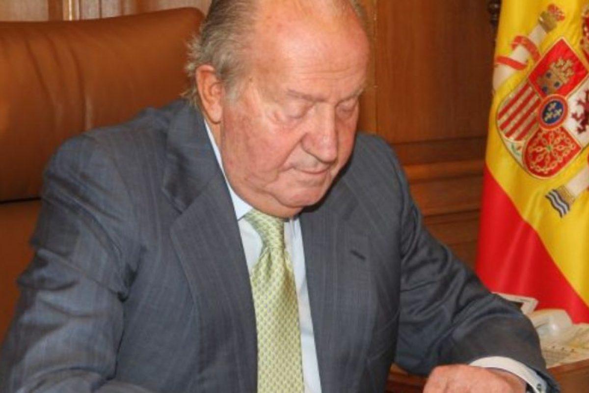 Rey Juan Carlos I de España, quien estuvo en el poder desde 1975 hasta su abdicación en 2014. Foto:Getty Images. Imagen Por: