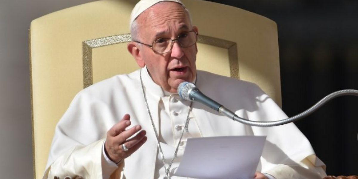 El papa afirma querer
