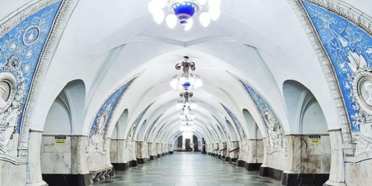 En fotos: La majestuosa belleza del metro de Moscú