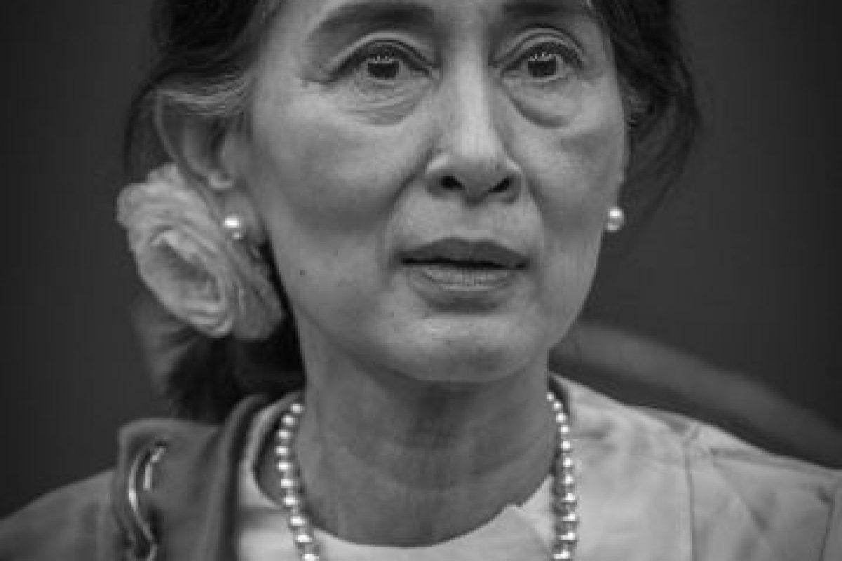 Es una política y activista de Myanmar. Además es una figura emblemática de la oposición a la dictadura de este país. Foto:Wikicommons. Imagen Por: