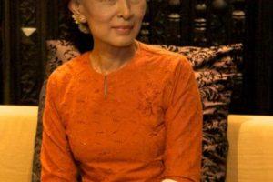 Resultó elegida como representante al parlamento birmano en 2012. Foto:Wikicommons. Imagen Por: