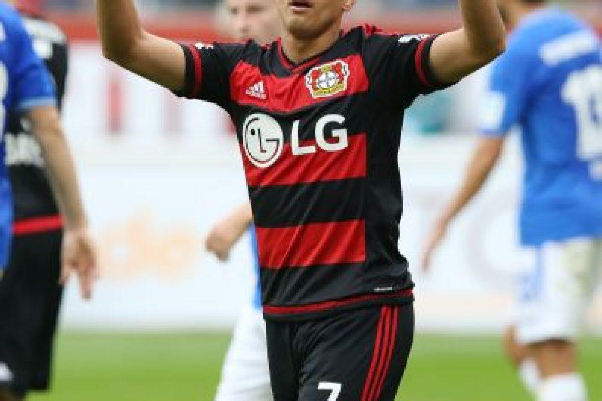 """7.- Hernández – Más de 8 millones de personas, como Javier """"Chicharito"""" Hernández, futbolista mexicano. Foto:Getty Images. Imagen Por:"""