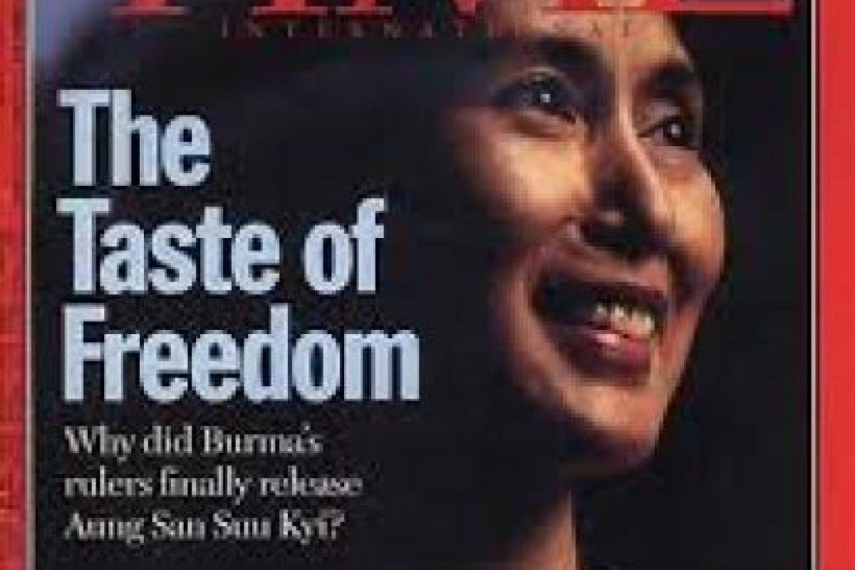 """Ella ha sido 7 veces portada de la revista estadounidense """"TIME"""", publicación que suele presentar a las principales figuras del planeta. Foto:Vía TIME. Imagen Por:"""