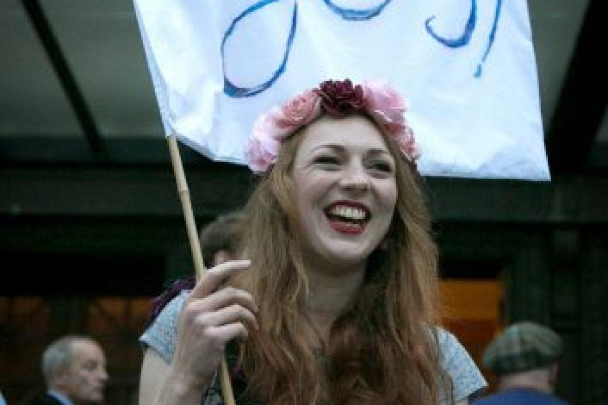"""Sin embargo, aunque se impuso el """"No"""", la Primera Ministra de Escocia, Nicolas Stugeon, afirmó que existe la posibilidad de convocar otro referéndum sobre la independencia escocesa. Foto: Getty Images. Imagen Por:"""