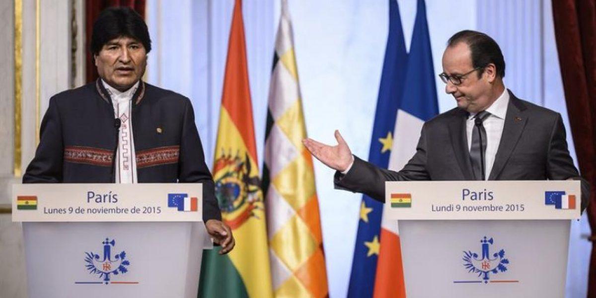 El llamado del presidente francés a Chile y Bolivia por demanda marítima