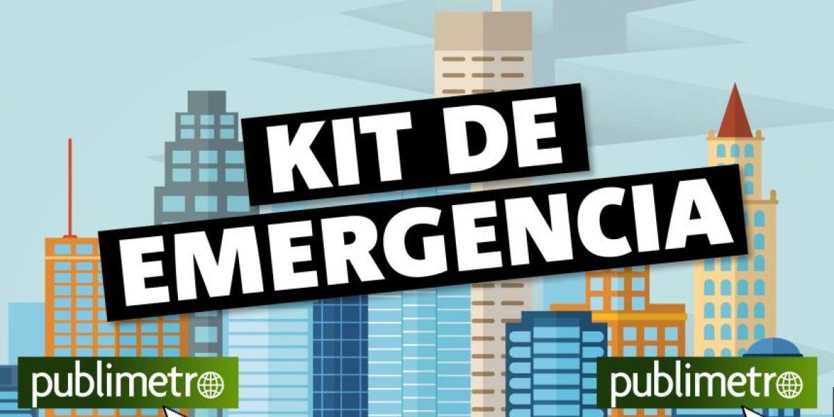 Infografía: Kit de emergencia