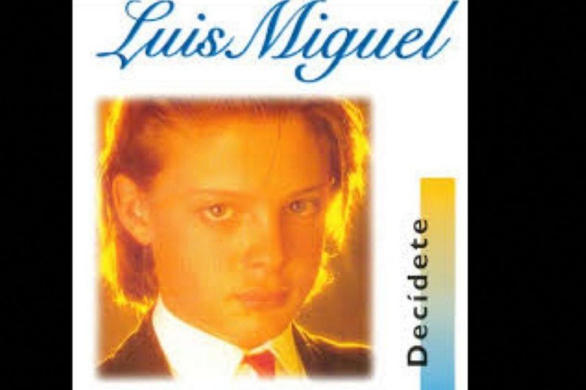 """Luis Miguel comenzó su carrera a la tierna edad de 12 años, en 1982. Antes de """"Decídete"""" ya tenía tres álbums de estudio. Foto:Coveralia. Imagen Por:"""