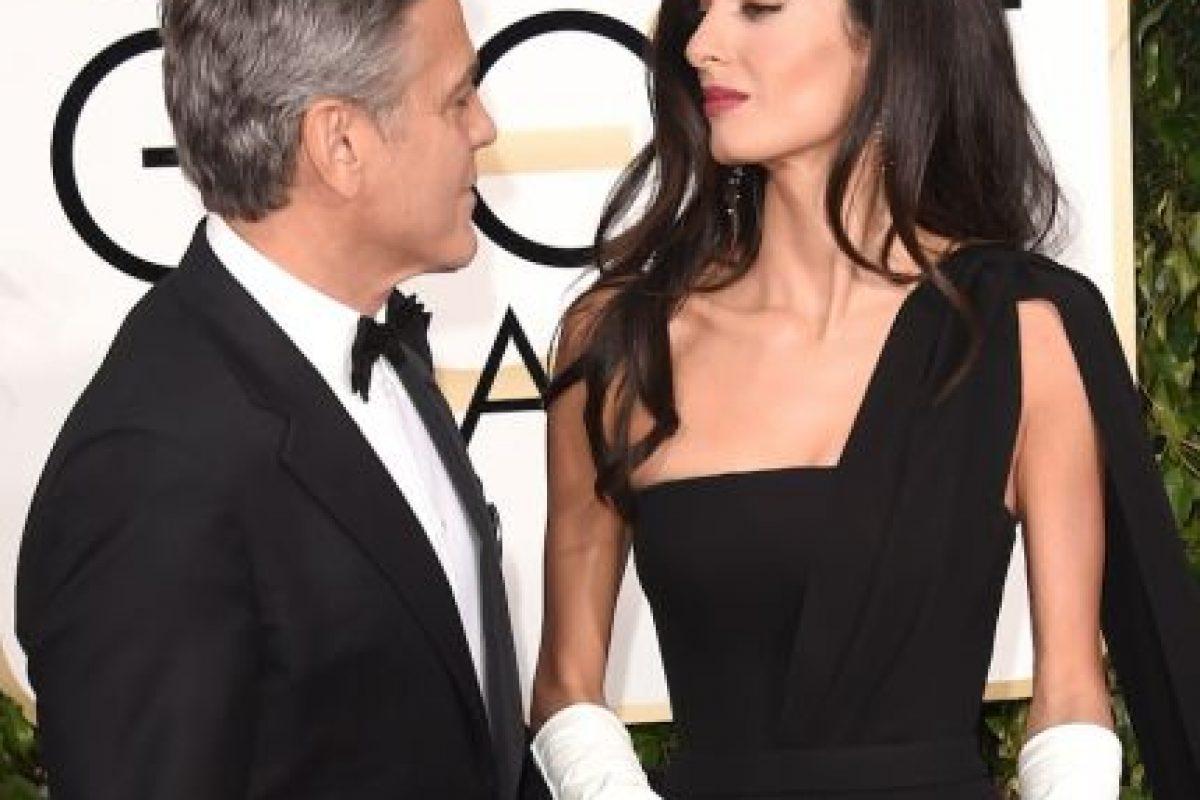 Amal Alamuddin, la esposa del actor George Clooney Foto:Getty Images. Imagen Por: