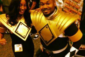 """En la actualidad, Jones visita diversas convenciones como el """"Ranger negro"""" Foto:Tumblr. Imagen Por:"""