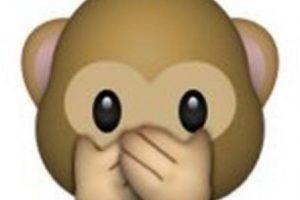 """Es uno de los tres monos sabios, parte de un proverbio budista, que en este caso es: """"No voy a decir el mal"""". Utilizado en casos como: """"No voy a decir nada"""", """"mis labios están sellados"""" o """"no voy a decir eso"""". Foto:Pinterest. Imagen Por:"""
